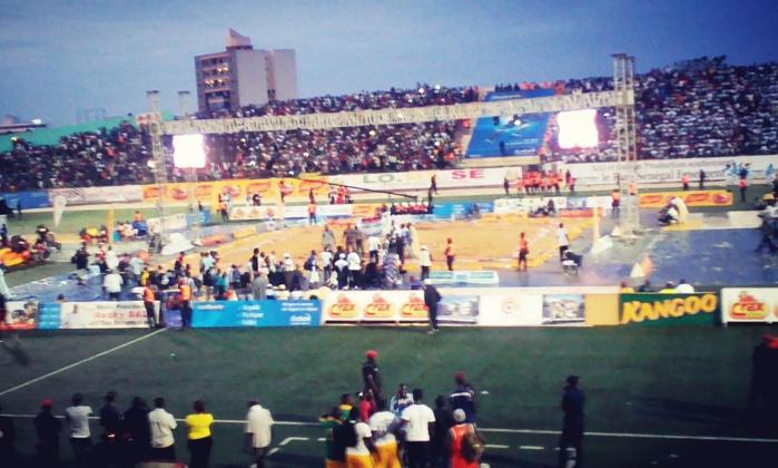 Baay Mandione-King Kong : match nul, mais riche en coups, prises et technicité