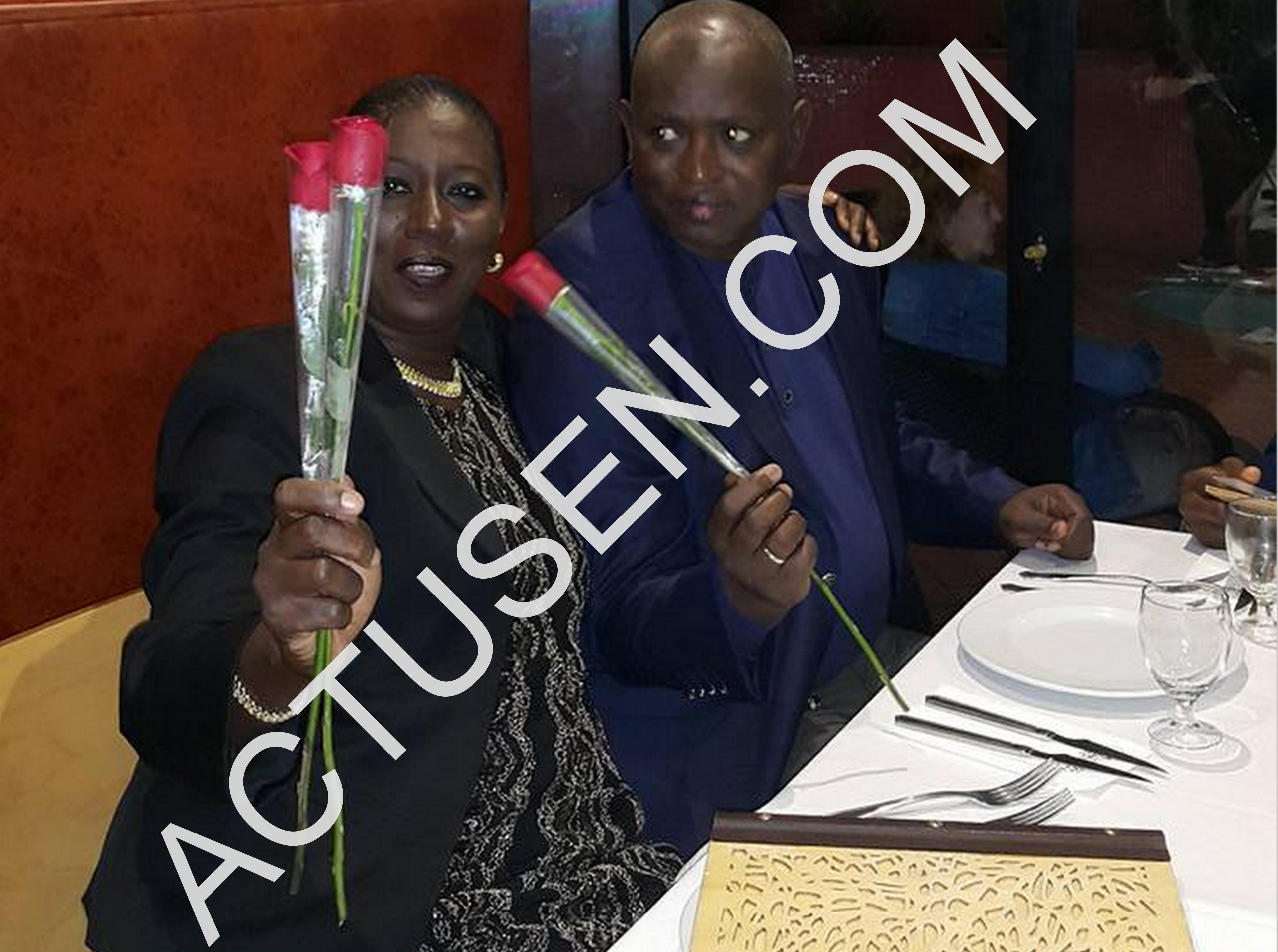 """Le ministre Abdou Latif Coulibaly se la joue """"jongé"""" avec sa douce moitié"""