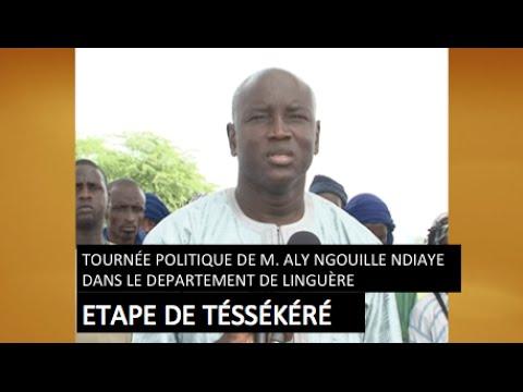 Reportage – Suivez le film de la Tournée Politique de Aly Ngouille Ndiaye à Linguère, Etape de Téssékéré