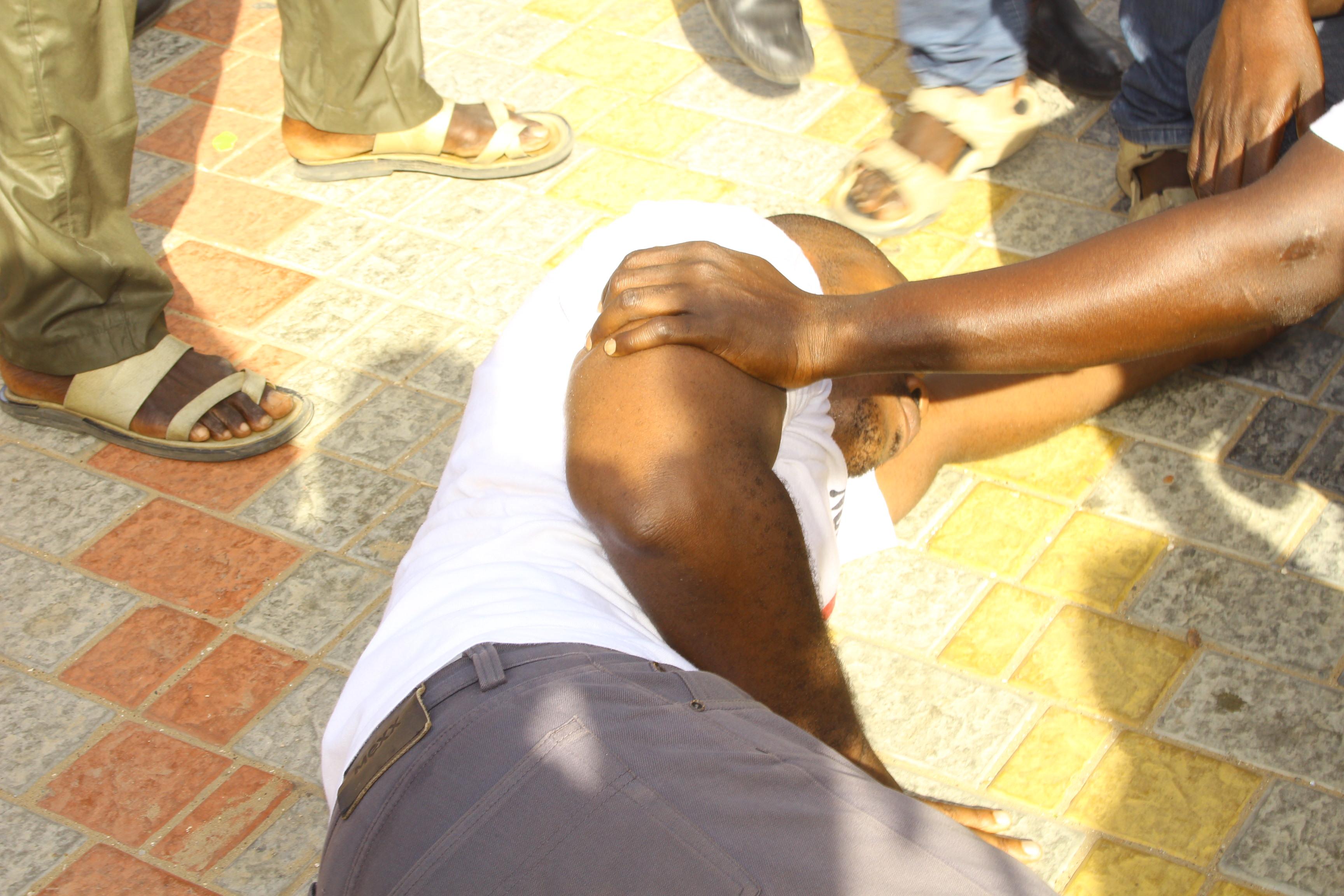 Marche de l'opposition : parmi les interpellés, figure cet homme bien connu des fichiers de Police