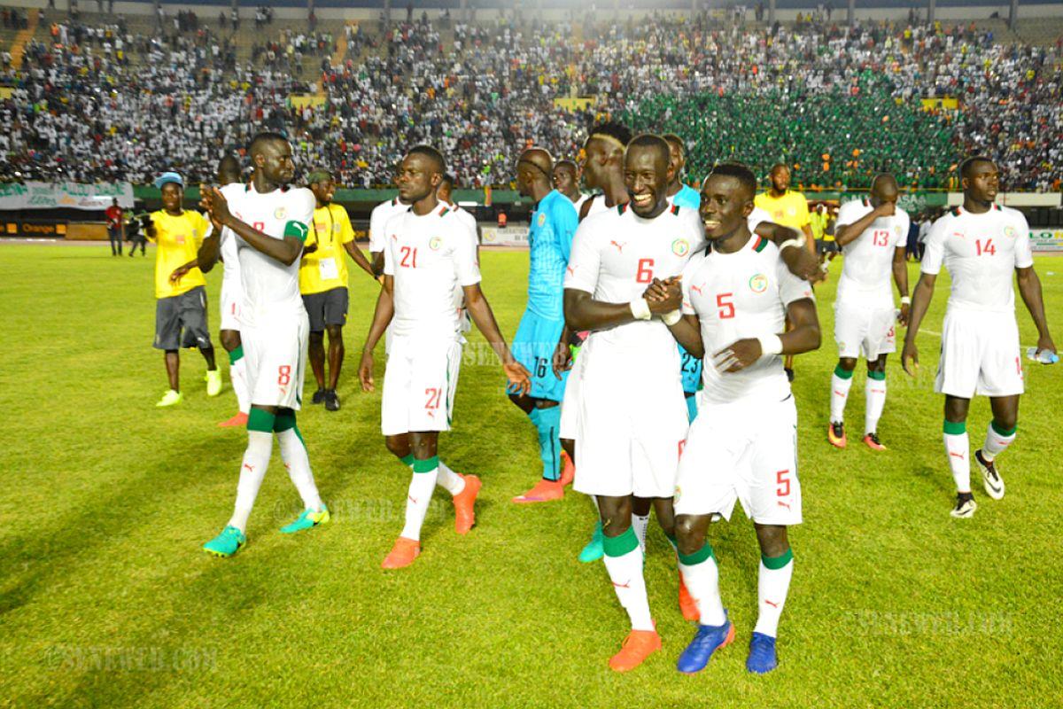 Le Sénégal affrontera l'Algérie, la Tunisie et le Zimbabwe