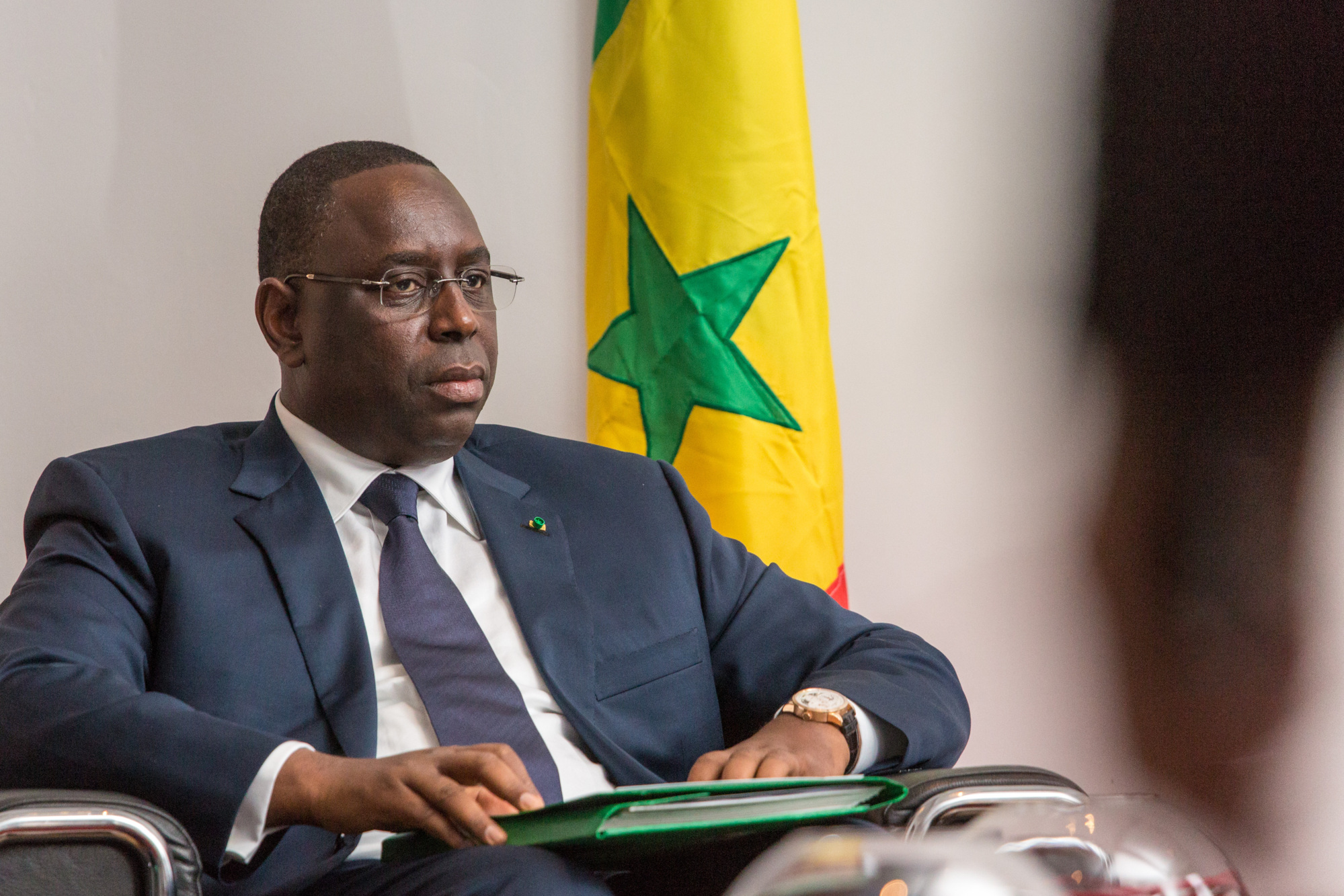 """Macky recadre le débat : """"il n'y a pas de patron Apr à Dakar"""""""