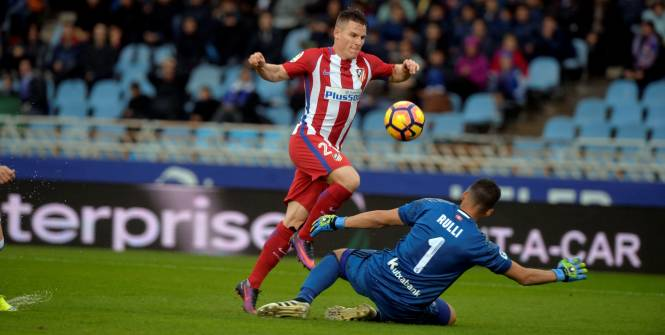 L'Atlético de Madrid perd à Anoeta contre la Real Sociedad