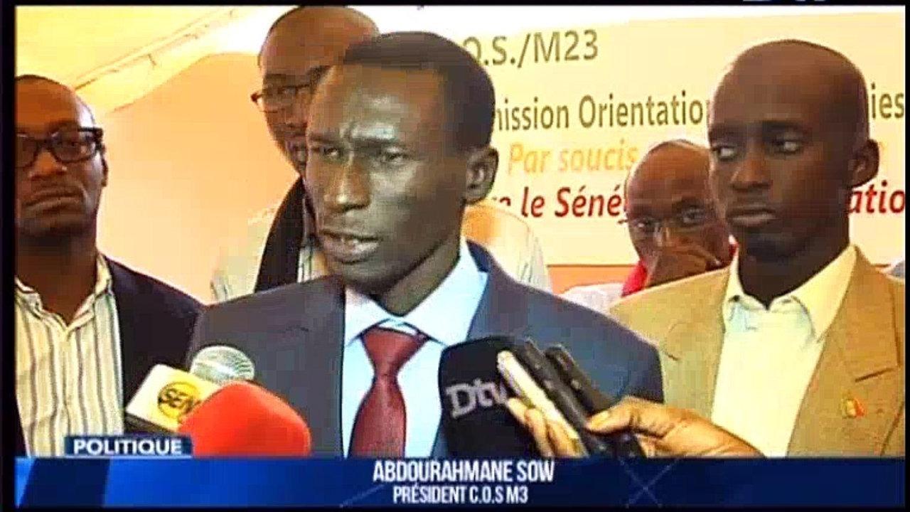 Abdourahmane Sow sur l'élargissement du Cos/pétro-gaz à l'opposition et la société civile: «nous n'accepterons pas d'être de simples faire-valoir»