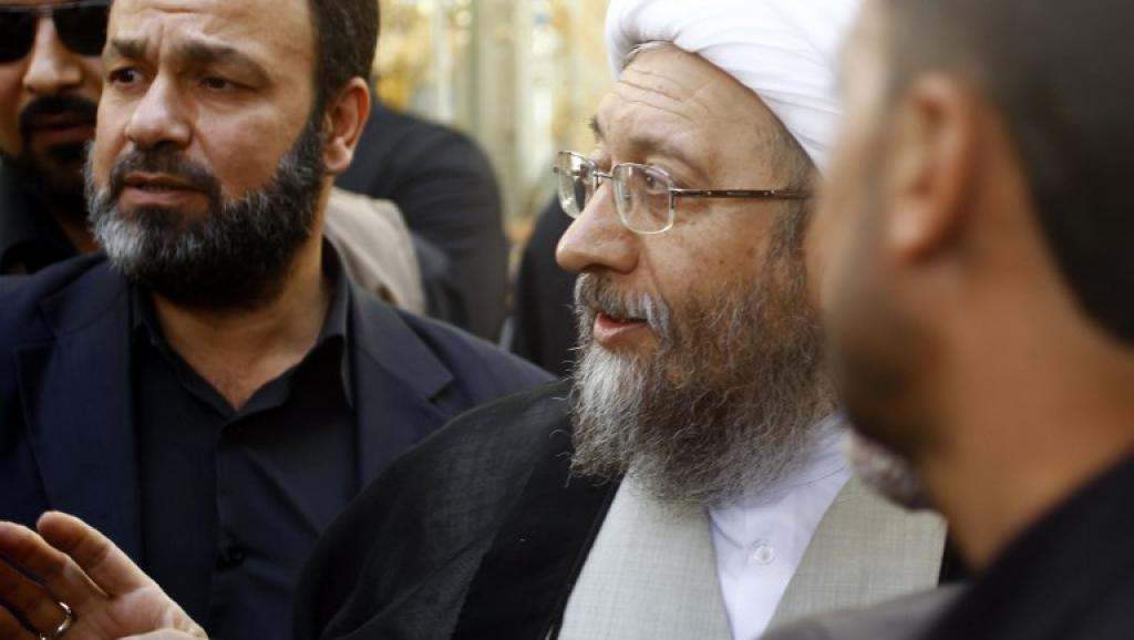 Iran: le chef de l'autorité judiciaire, l'ayatollah Larijani met en garde Rohani