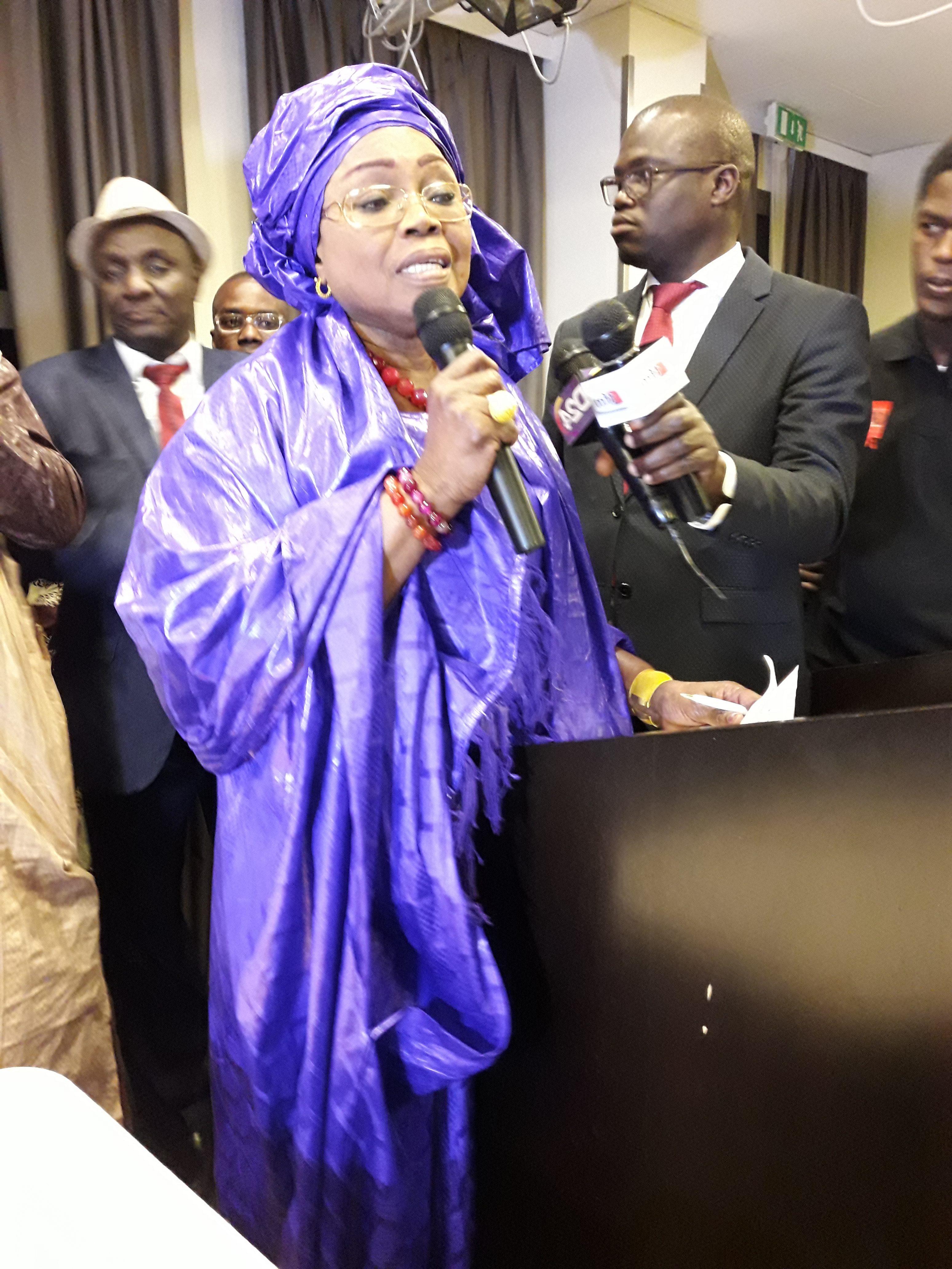 Ndeye Marième Badiane, responsable des femmes de Bby: «Me Abdoulaye Wade est un homme dépassé par les événements et déconnecté de la réalité»