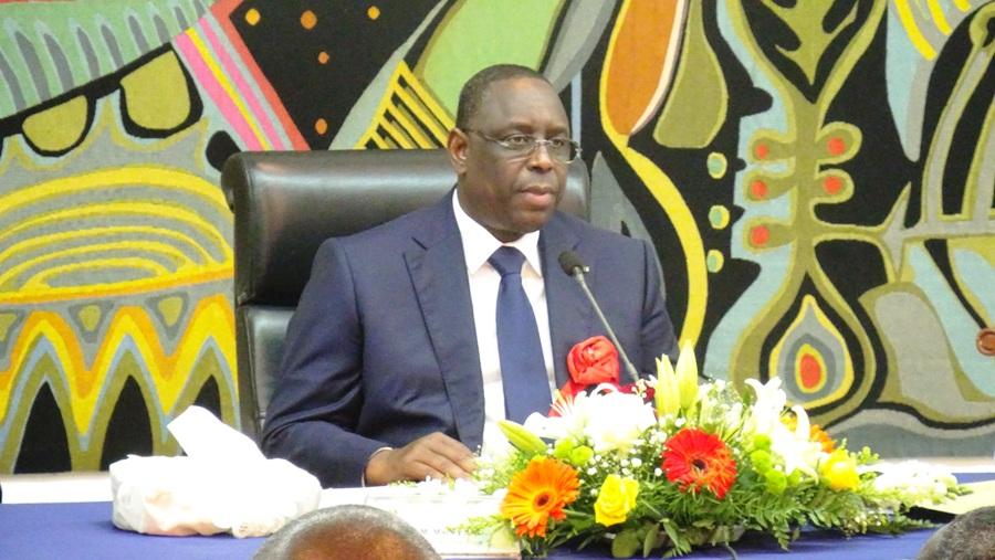 """Macky Sall réaffirme sa volonté de poursuivre """"la dynamique de réduction du train de vie de l'Etat"""""""
