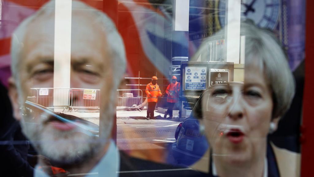 Elections britanniques : May et Corbyn, des chefs de file que tout oppose