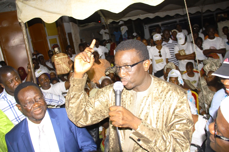 En quête de suffrages aux Parcelles Assainies: Amadou Ba, à genoux devant les Parcellois