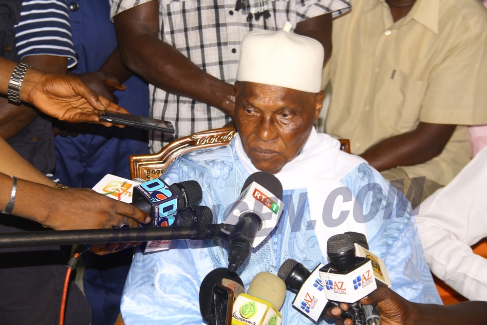 Abdoulaye Wade sur Tanor Dieng : «Nos deux idéologies se sont heurtées, parfois avec violence mais…»
