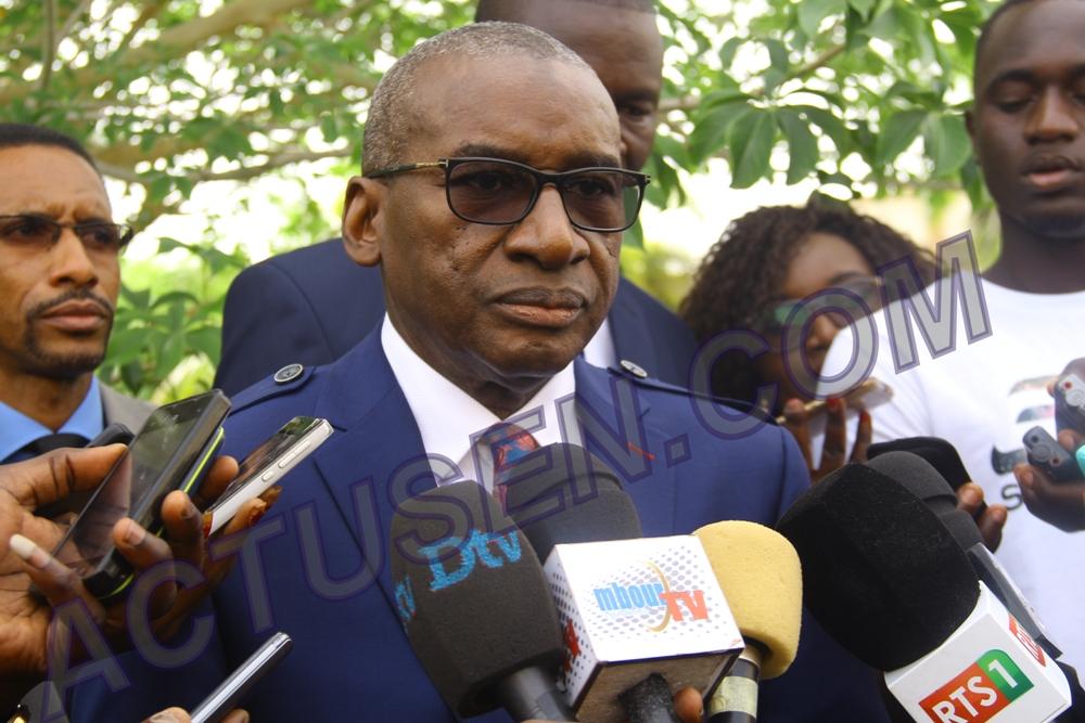 Passation de service Me Sidiki Kaba à Amadou Ba: «On vous a toujours appelé le grand argentier de l'Etat, maintenant vous êtes le Chef de la diplomatie du Sénégal»