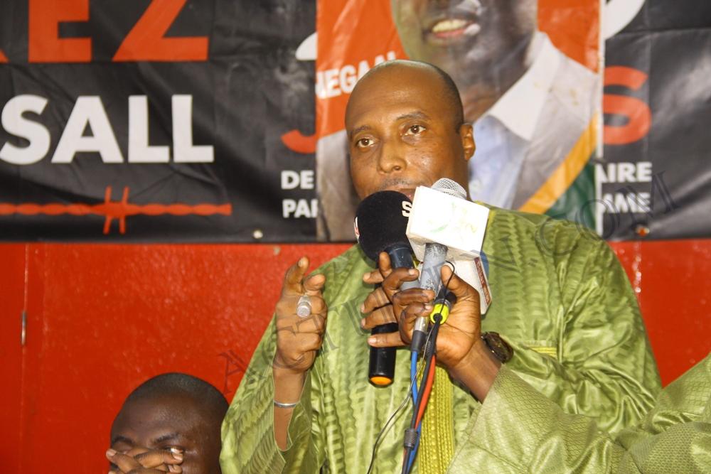 Barthelemy Dias demande à l'opposition de quitter la table du dialogue national pour soutenir Khalifa Sall