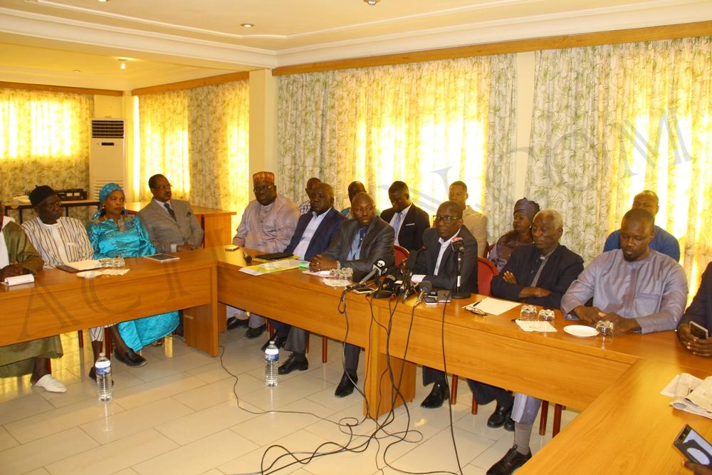 Dialogue politique: le Front de résistance nationale campe sur sa position et saisit Aly Ngouille Ndiaye