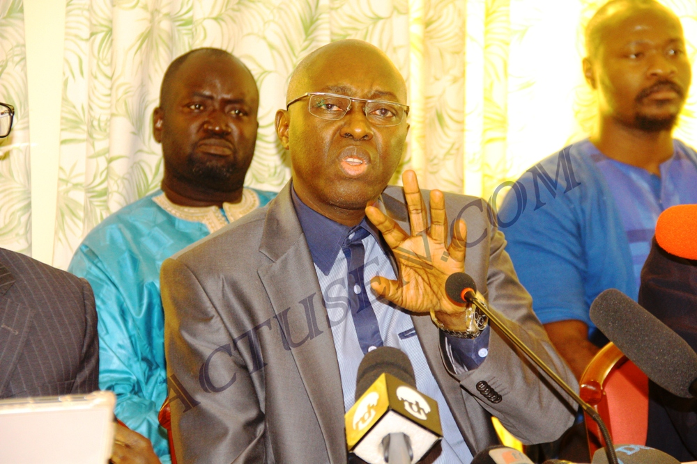 Mamadou Lamine Diallo: «la stratégie de Macky Sall est de rayer les opposants des listes électorales»