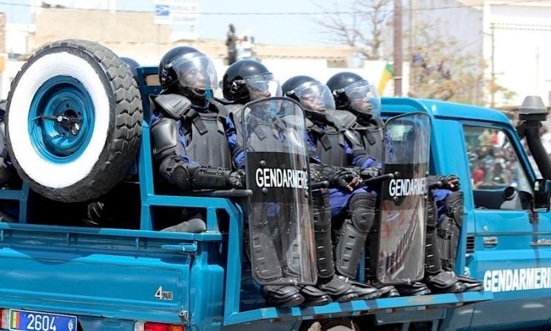 Caravane initiée par Me Wade : La police et la gendarmerie sur pied de guerre pour éviter tout attroupement