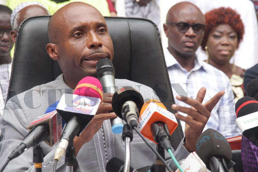 Association des maires du Sénégal: Barthelemy Dias a déposé sa lettre de démission