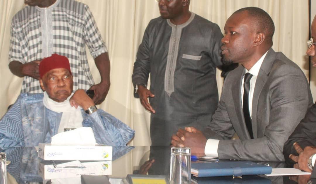 Les conclusions de la rencontre entre Abdoulaye Wade et Ousmane Sonko