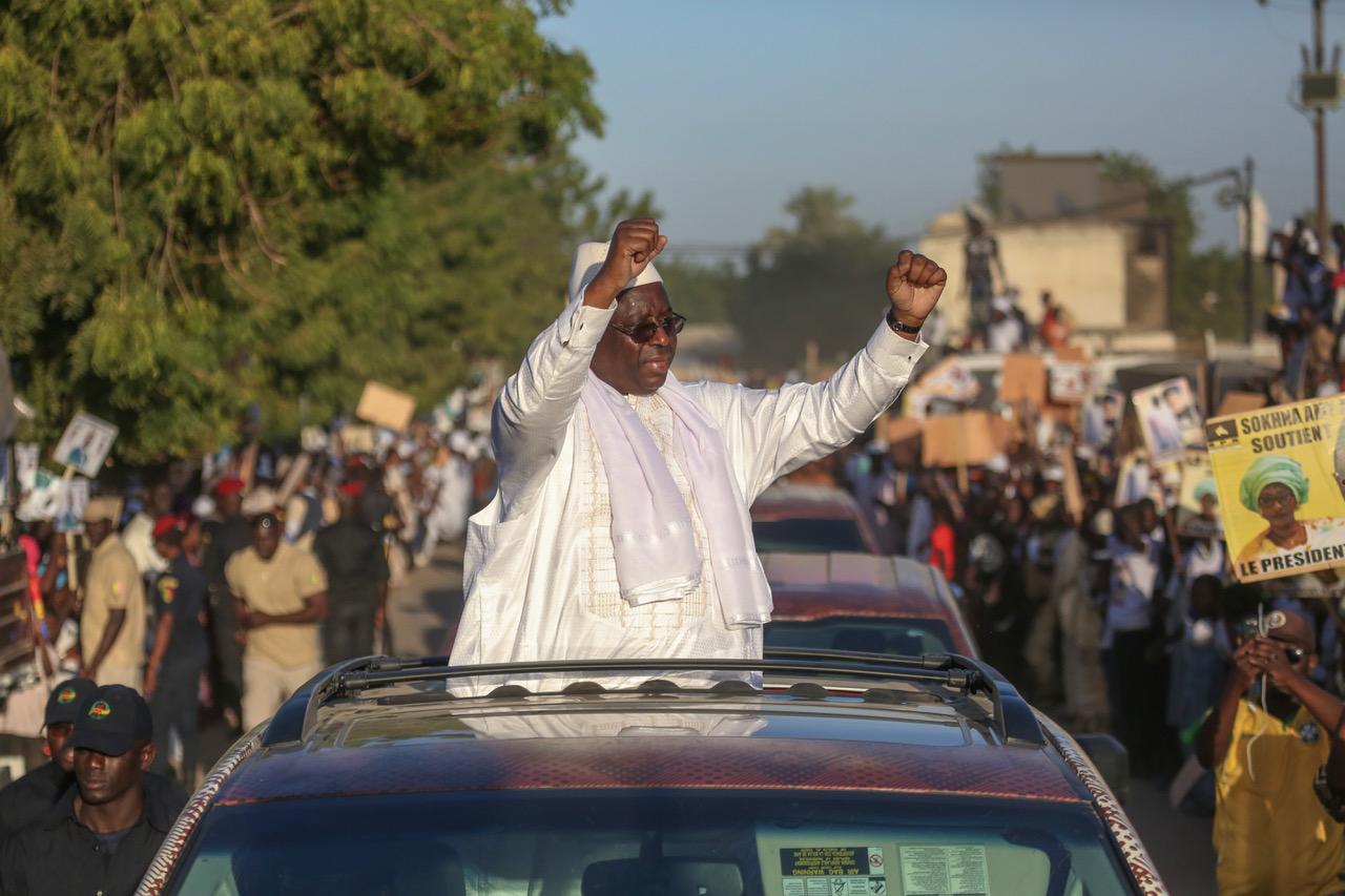 Accueilli par une forte mobilisation: Macky Sall rassure par des promesses