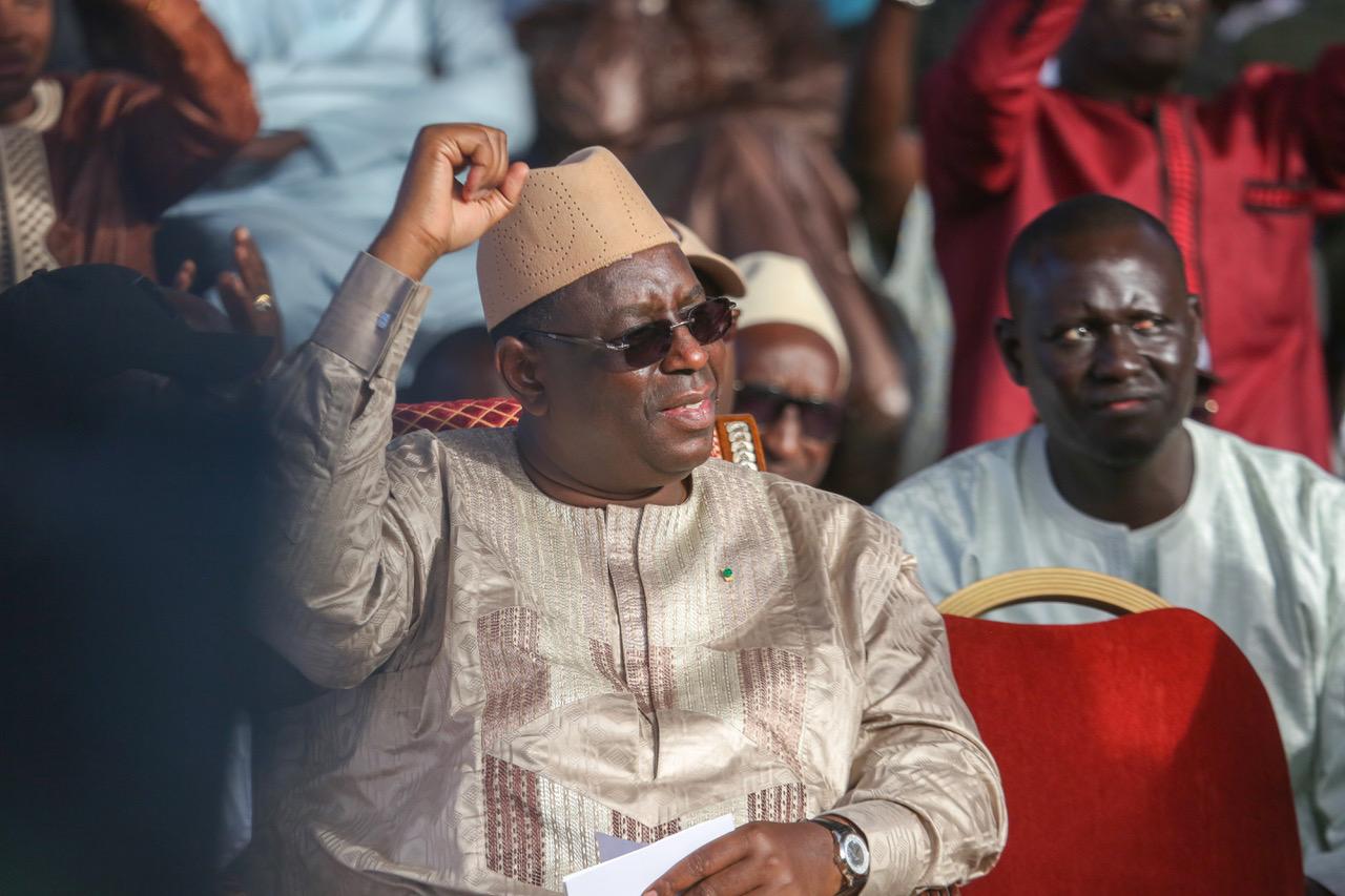 """Macky Sall : """"personne ne pourra obliger les Sénégalais à fermer les yeux sur mes réalisations"""""""