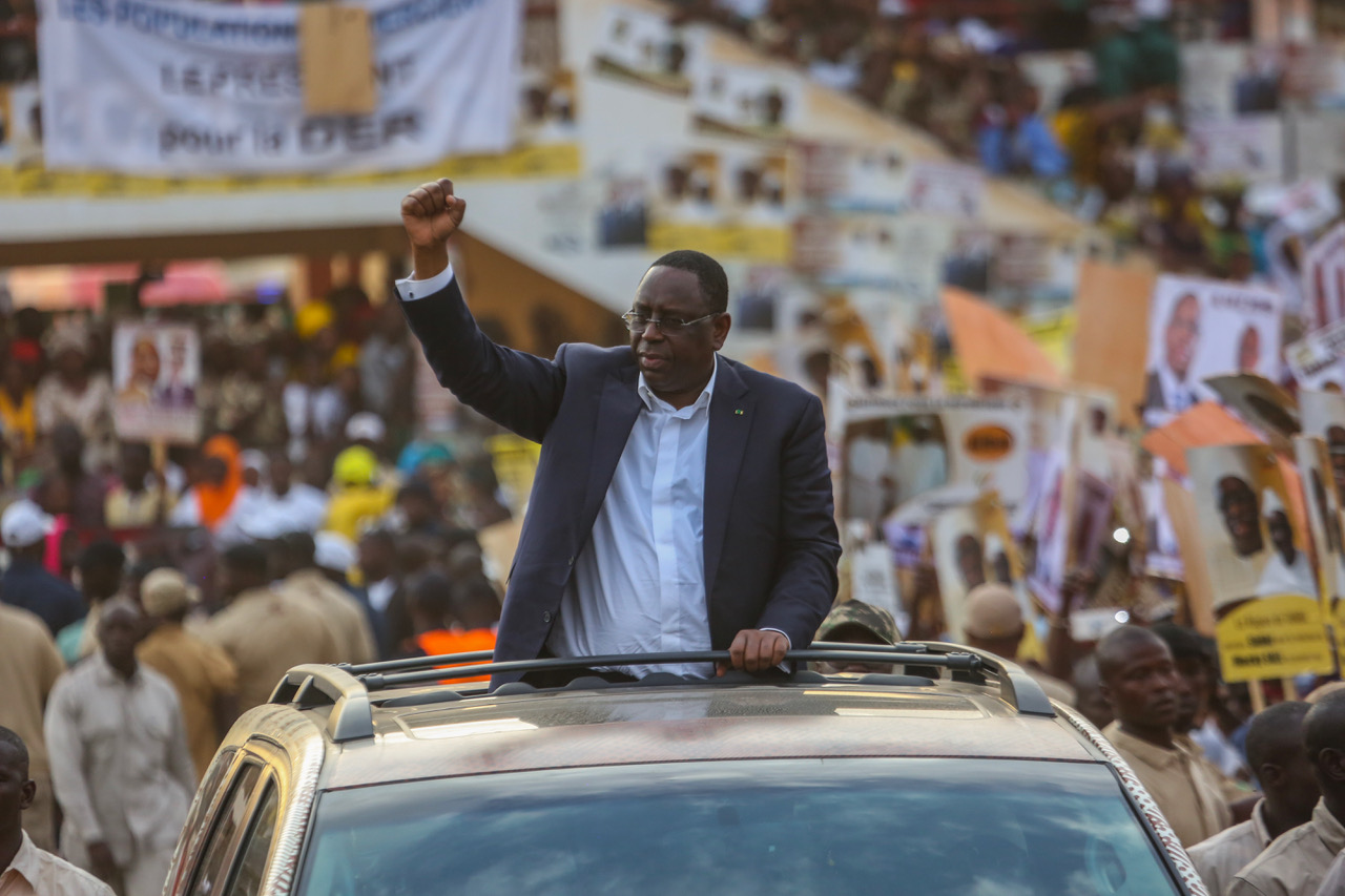 "Macky Sall de passage à Saré Bassi: ""je sais que j'ai gagné ici"""