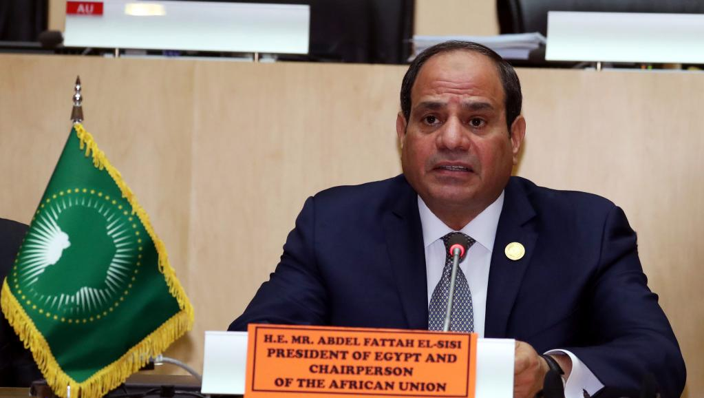 Aux manettes de l'UA, l'Egyptien al-Sissi promet le panafricanisme économique