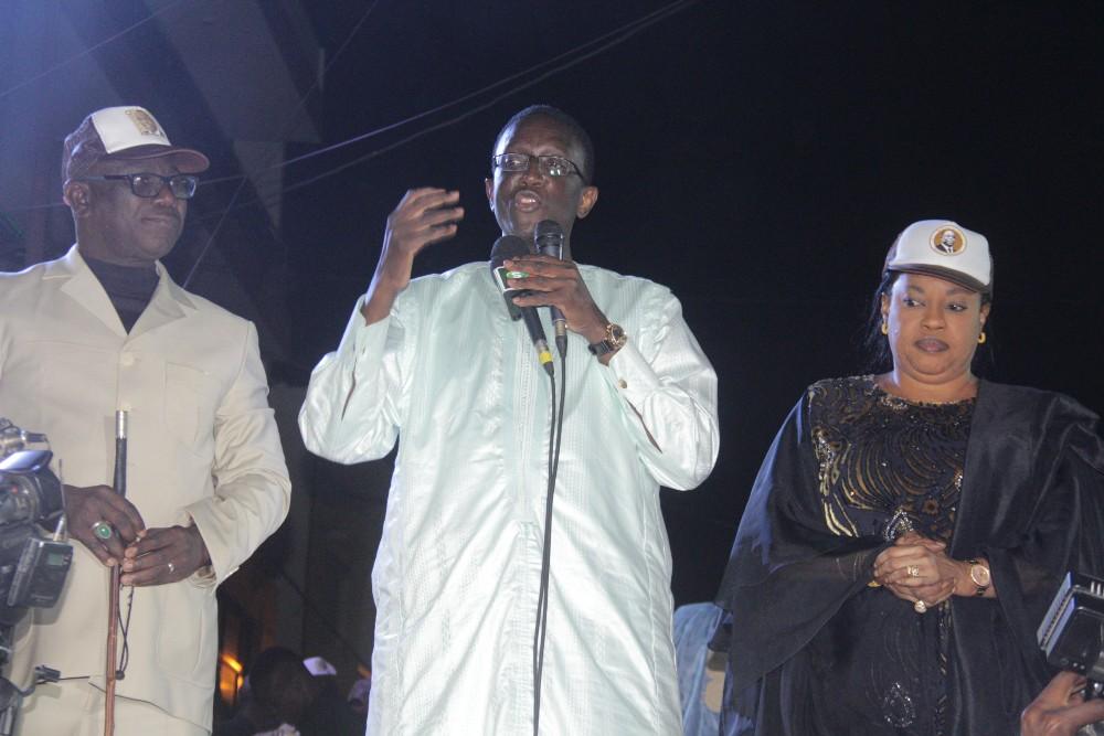 """Amadou Ba, en meeting à Grand Dakar et Fass-Colobane : """"Votez le cheval!"""""""