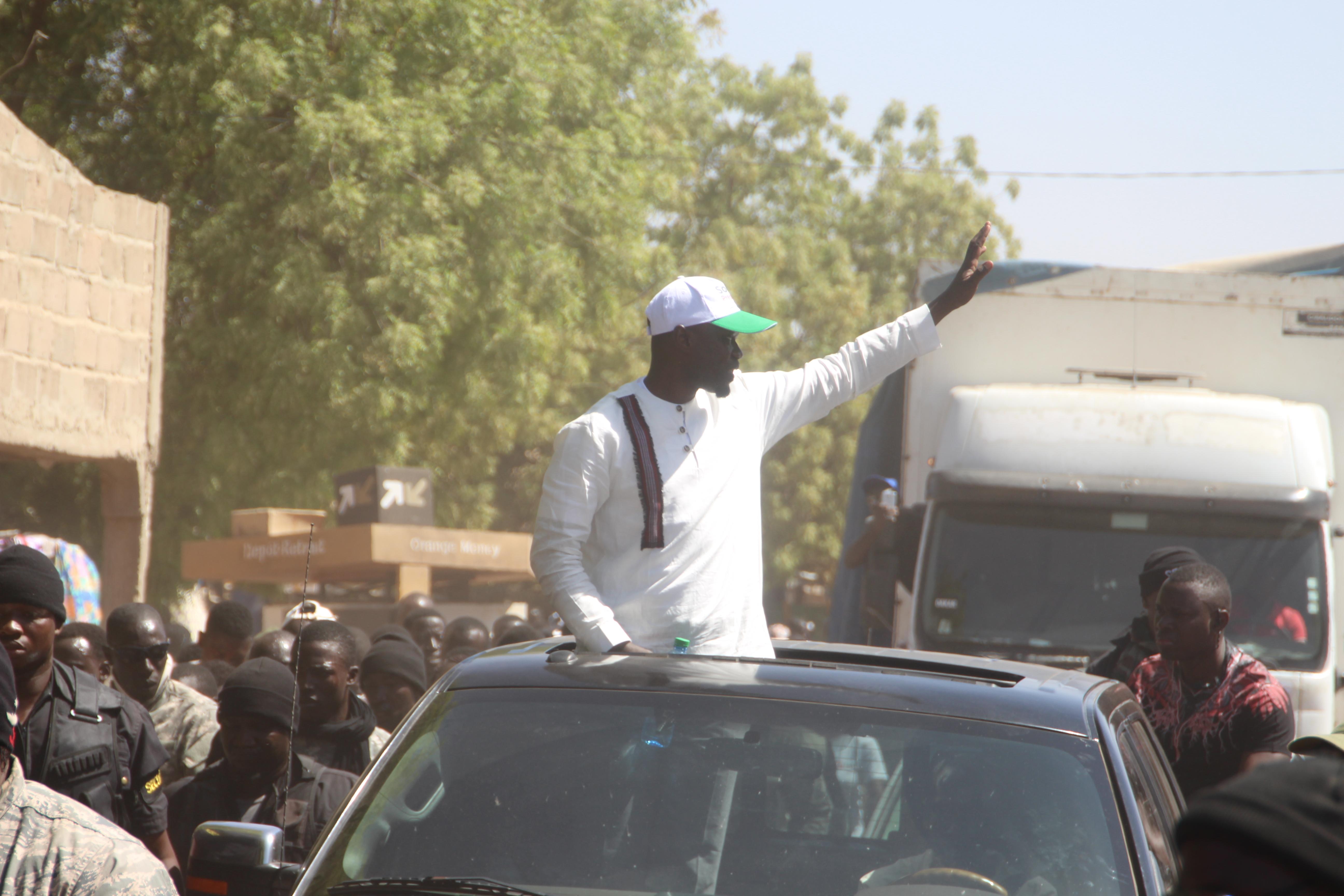 Ousmane Sonko attaque encore au candidat de Benno Bokk Yakaar: «Macky Sall est le pire Président que le Sénégal ait connu»