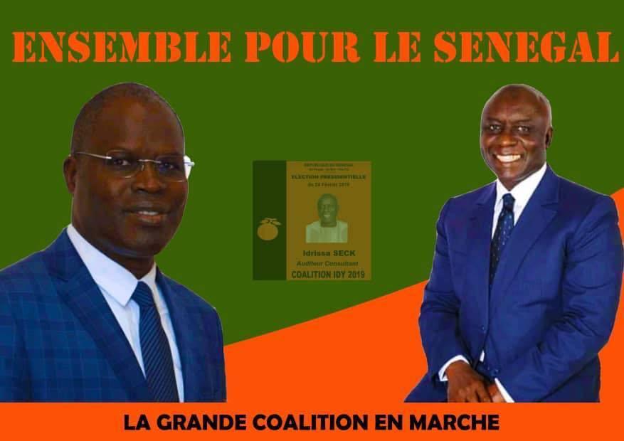 Pour la campagne d'Idrissa Seck: les partisans de Khalifa Sall affichent «Mankoo taxawu Rewmi jotna»