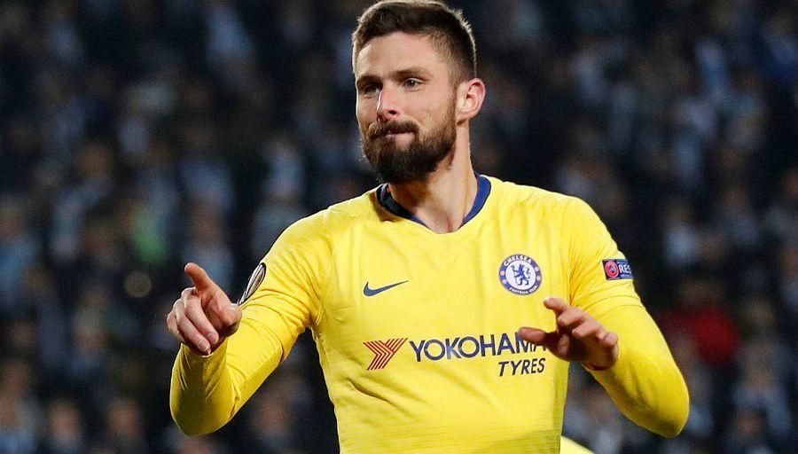 Avec Giroud, Chelsea respire un peu
