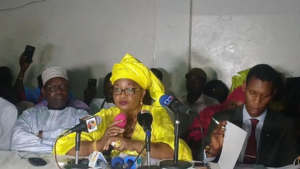 Candidat à soutenir à la présidentielle du 24 février prochain: Aida Mbodji se prononce ce dimanche