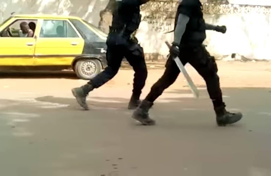 Incidents de Tamba, un agent de sécurité du Pur activement recherché