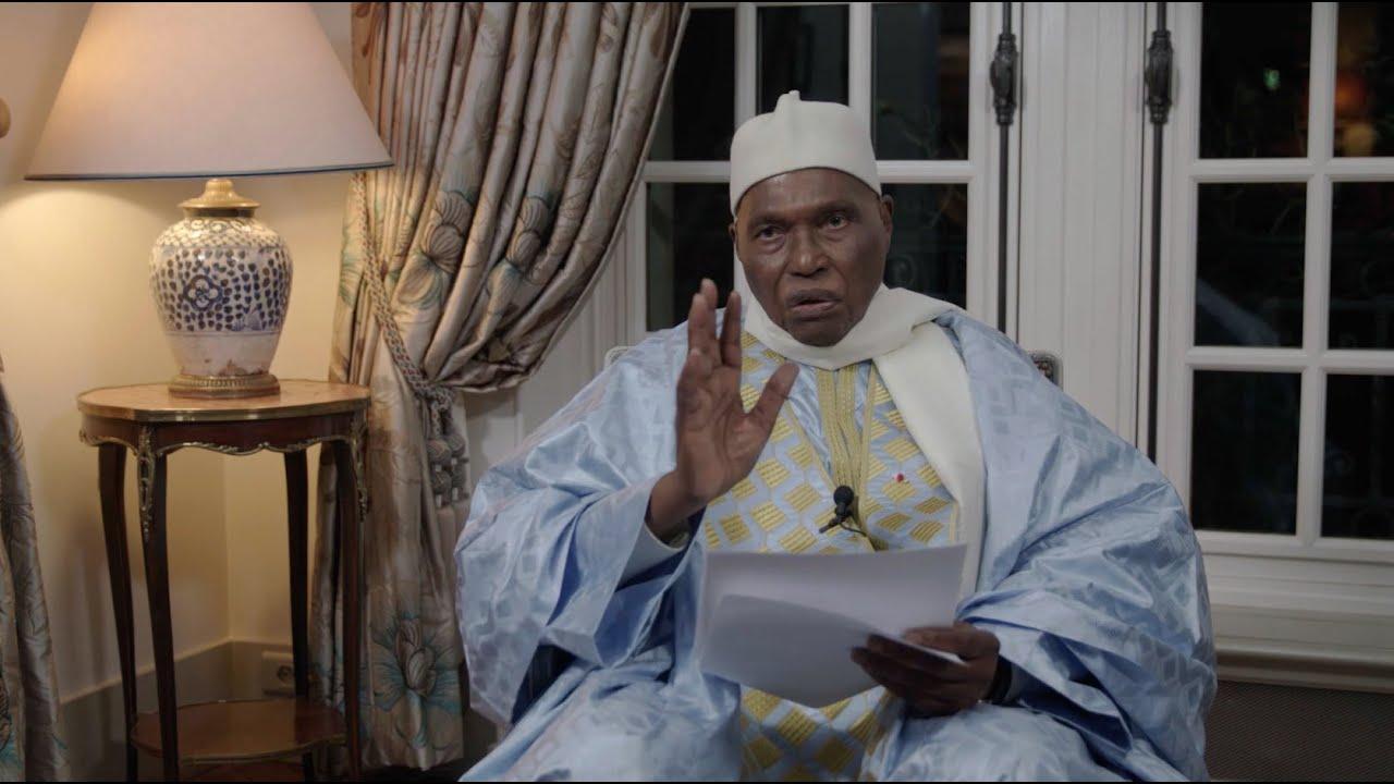 """Me ABdoulaye Wade : """" Le Sénégal peut connaître des milliers de morts  qu'ont connus la Côte d'Ivoire, le Benin, le Togo"""