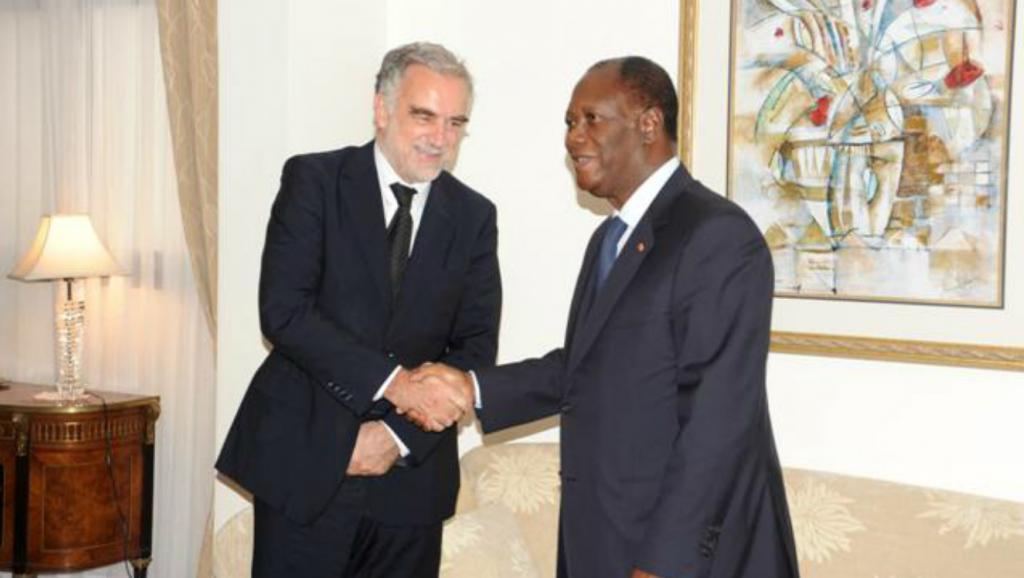 Côte d'Ivoire: Ouattara et Ocampo, une histoire de rencontres