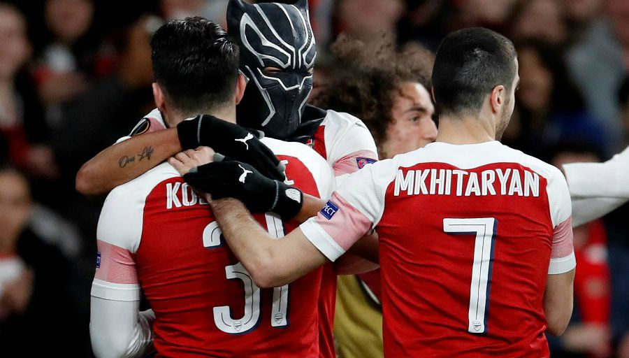 Arsenal: Aubameyang explique sa célébration masquée contre Rennes