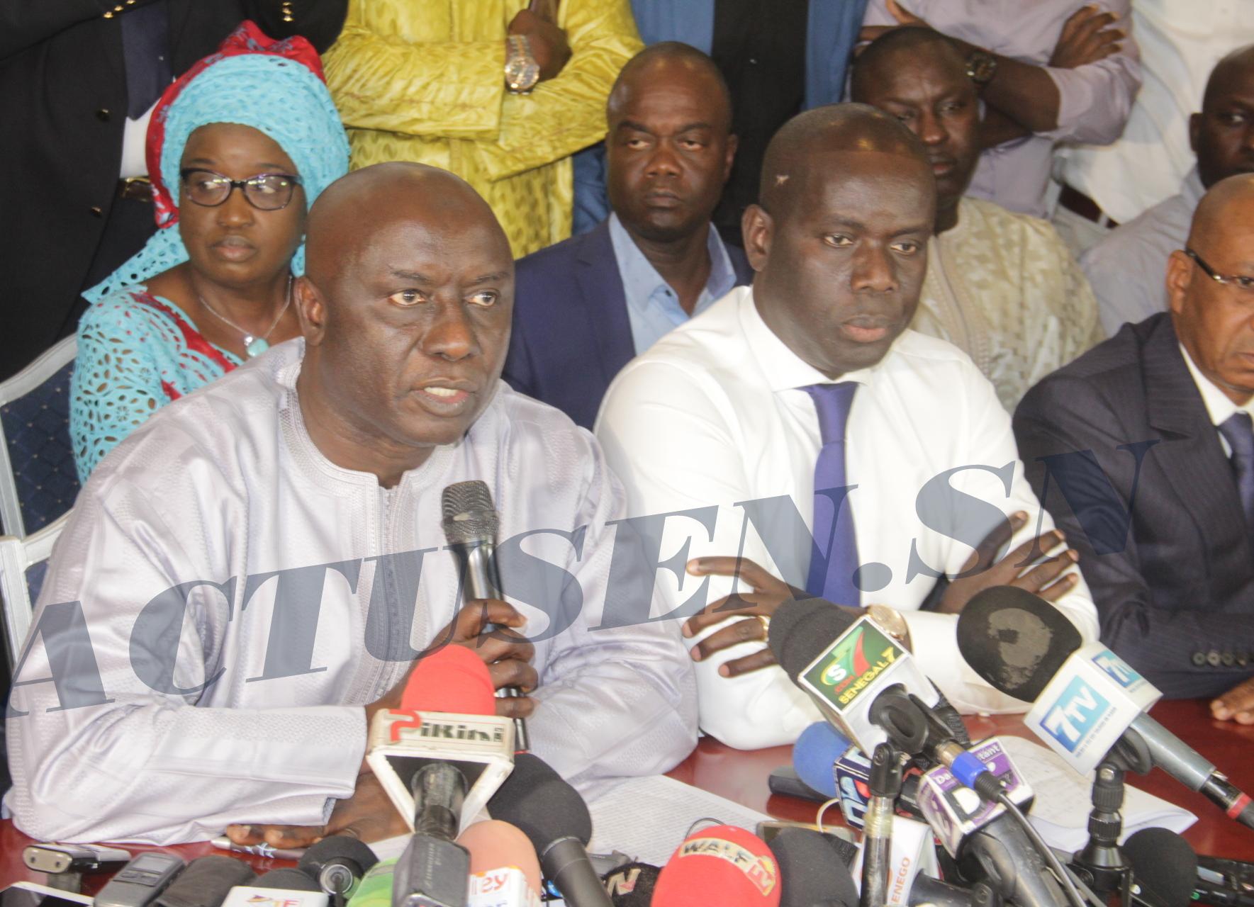 Idrissa Seck: «Avec responsabilité, fermeté et détermination, nous entendons rester mobilisés pour la prise en charge de ce désir de changement devant des acquis démocratiques de notre peuple»