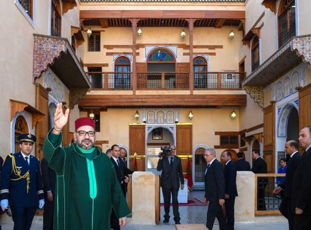 De nombreux projets réalisés ou lancés par le Roi du Maroc à Fès et initiative Royale de créer un musée de la culture juive