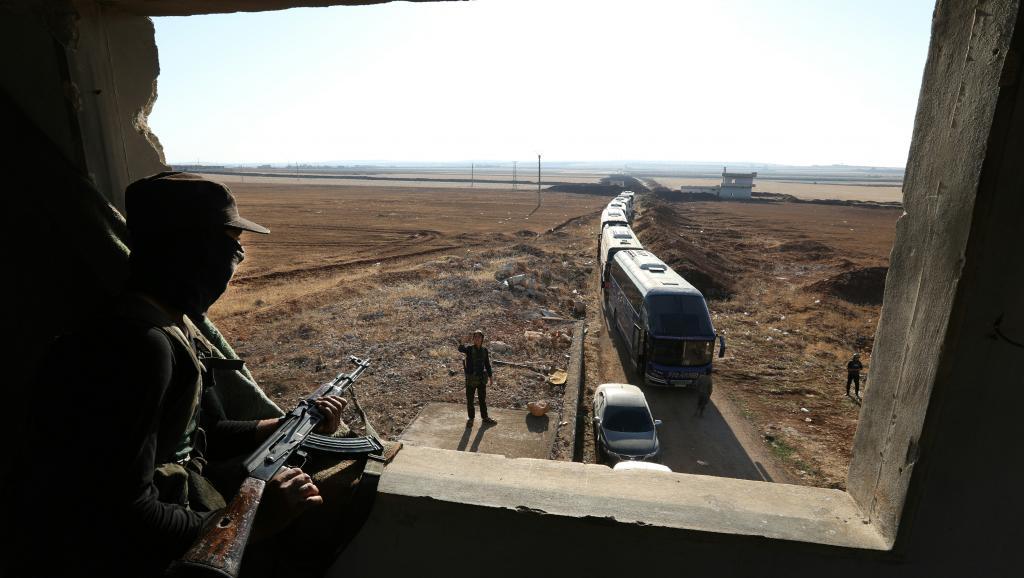 Syrie: escalade militaire dans les provinces de Hama et d'Idleb