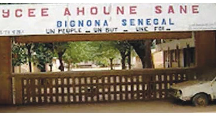 Lycée Ahoune Sané de Bignona: levée de sanction pour le Proviseur, le Censeur et le Surveillant