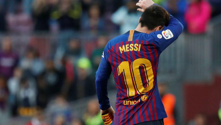 La colère de Messi