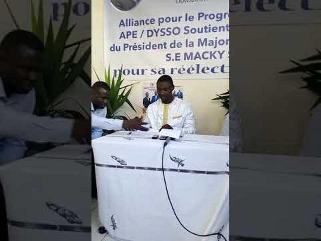 APE/Dysso sur le dialogue national : «il faut trouver de personnes neutres et capables d'assumer et de rassurer»