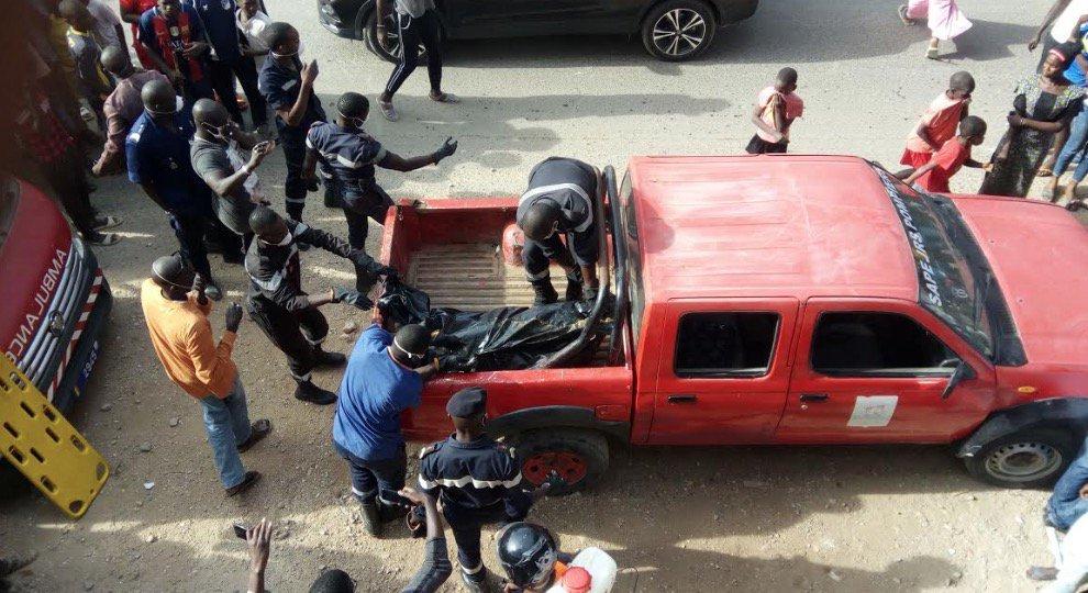 Découverte macabre: la dépouille d'une femme retrouvée au marché de Ouakam