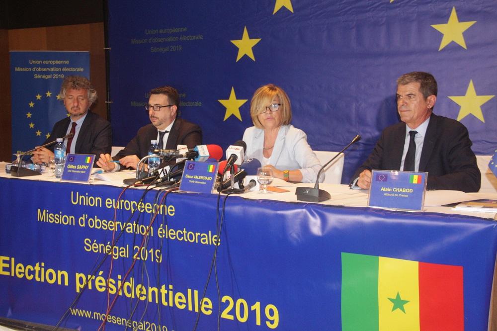 Publication de son rapport final sur la présidentielle du 24 février: la Mission d'observation électorale de l'UE recommande l'abandon du parrainage