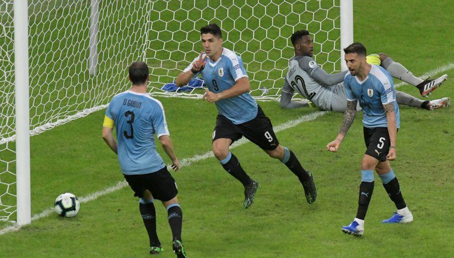 L'Uruguay démarre fort