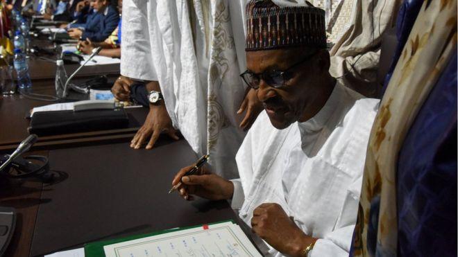 Le Nigeria signe l'accord de libre-échange de l'Union africaine