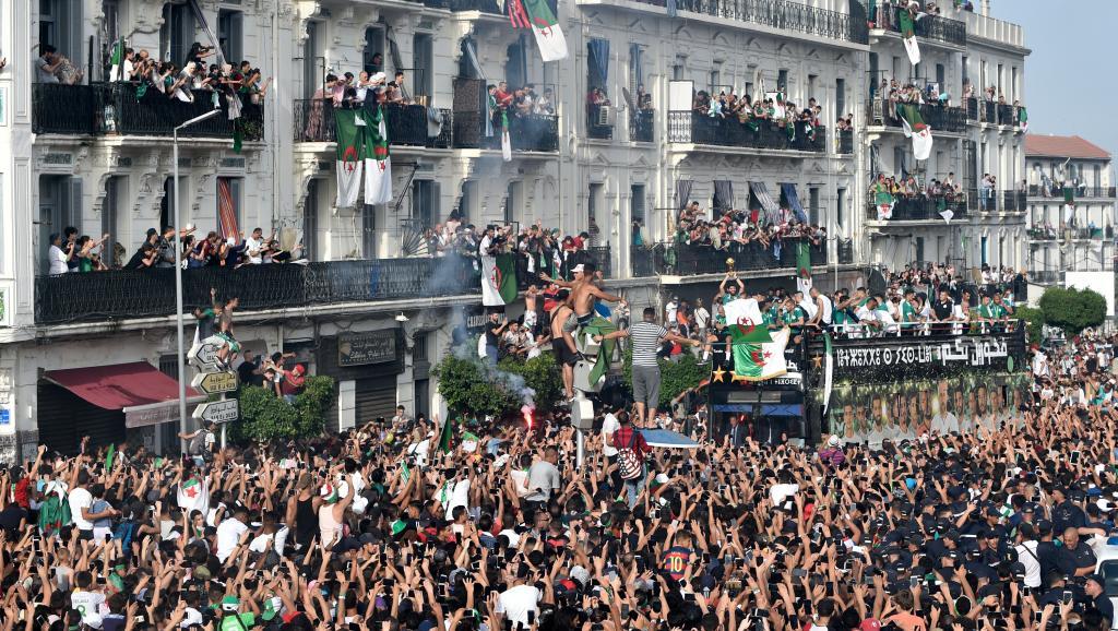 CAN 2019: Retour triomphal des Fennecs en Algérie
