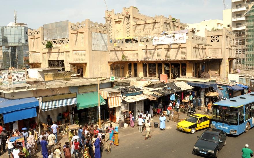 Réhabilitation du marché Sandaga: la date de fermeture reportée au 30 août prochain