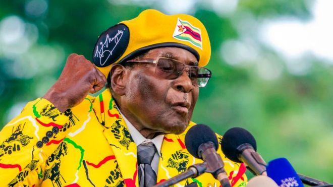 Mugabe à l'hôpital de Singapour depuis avril