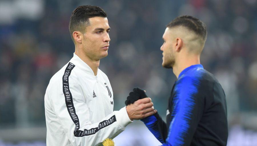 Quand Ronaldo pousse pour Icardi