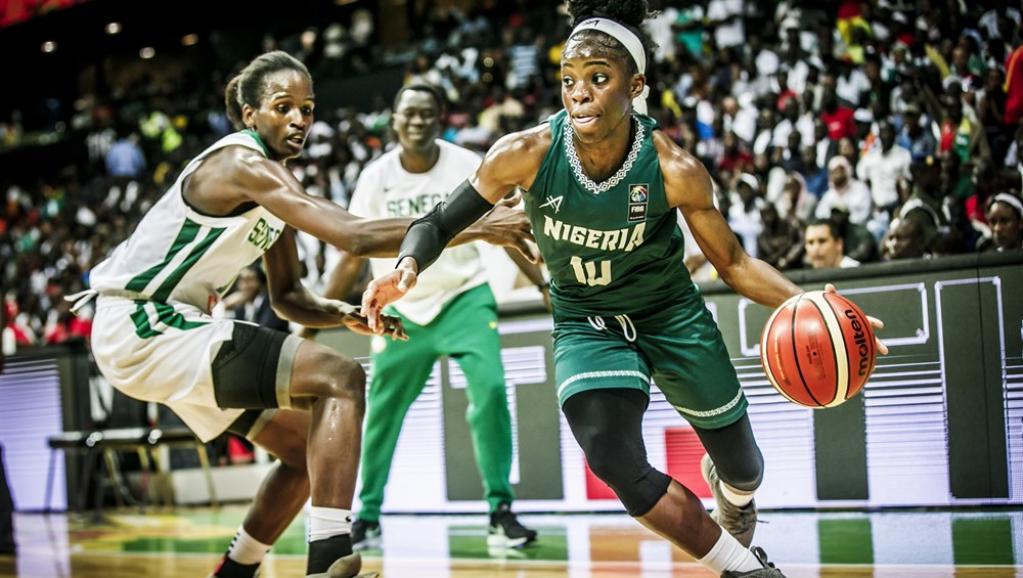 """Finale Afrobasket 2019: les """"lionnes"""" s'inclinent devant le Nigéria"""