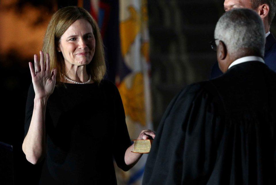 Barrett à la Cour suprême : immense victoire de Trump
